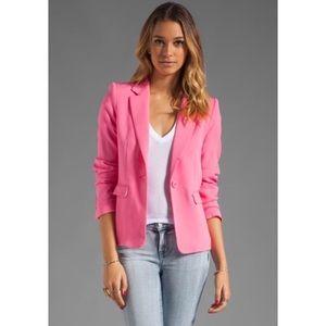 Alice & Olivia neon pink Elyse blazer md